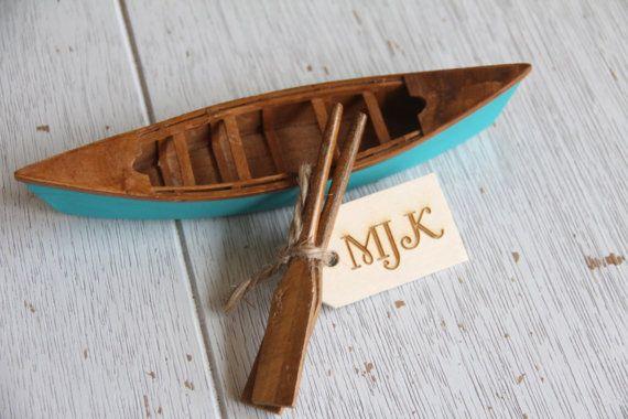 Canoe Cake Topper Canoe Cake Canoe Wedding by Rusticblend on Etsy