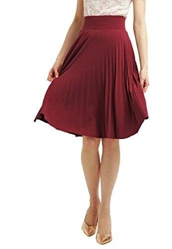 Falda midi plisada #faldas #moda #mujer #outfits  #faldamidi #faldasinvierno #style #shopping #fashion #modafemenina #faldaplisada
