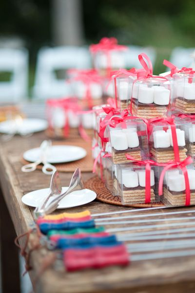 s'mores to go! | Nate Henderson #wedding