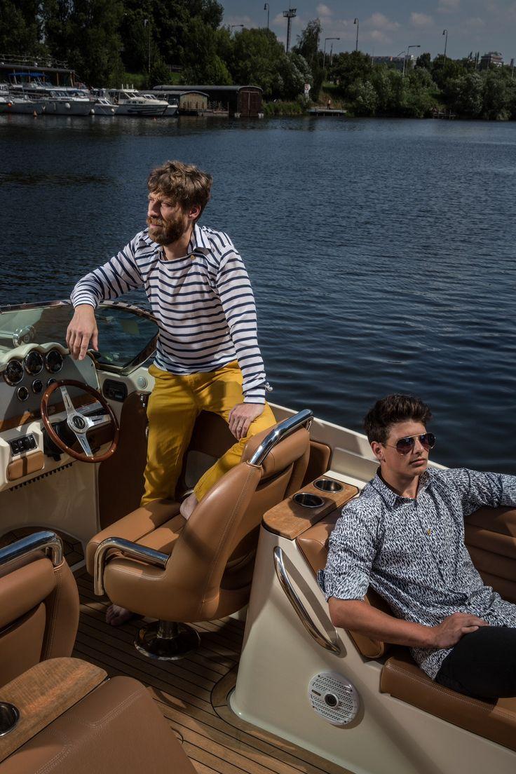 Švédská námořnická Pánská košile