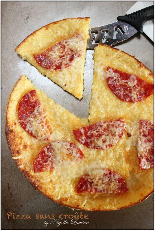 Pizza sans croûte de Nigella