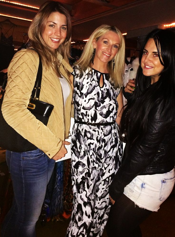 Gemma Atkinson with Danielle Watson Tongues Will Wag Fashion at Bloggers Love Event Top Ten Brands to Watch 2014