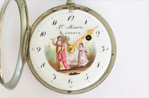 10 best watch faces images by alessandra reeves gehrig on pinterest beautiful original painted dial silver swiss verge fusee pocket watch 1800 ebay pink shawlwatch facespendant aloadofball Choice Image