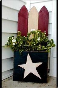 americana wooden outdoor decor | Free Wood Crafts - Americana