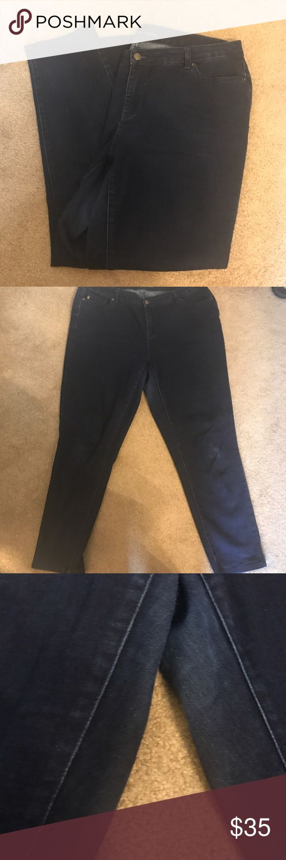 """Size 16W Michael Kors Jeans Size 16W Michael Kors Jeans. Good used condition. Normal wear between legs. """"Michael Kors"""" hardware on back loose. Michael Kors Jeans Skinny"""