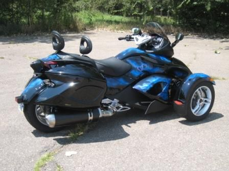 can am custom | Our customized Spyder - Customyze - can-am Spyder Forums - SpyderTalk ...