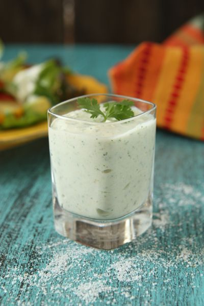 Hatch-chile-dressing, perfect for a fiesta style salad!