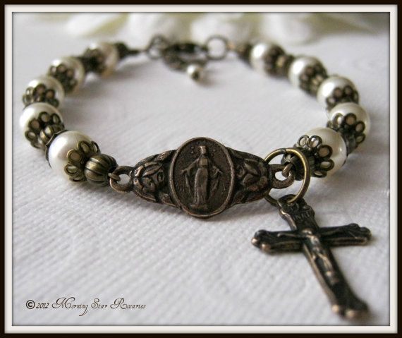 rosary bracelet prayer instructions