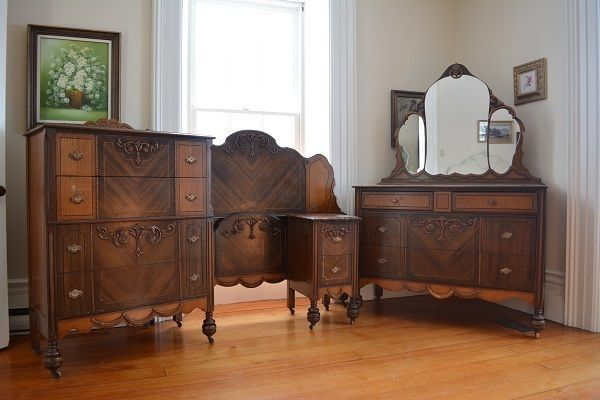 Antique Bedroom Furniture 1930 With