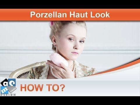▶ How To? - Porzellan Haut Effekt - (Tutorial, Photoshop, Deutsch) - YouTube