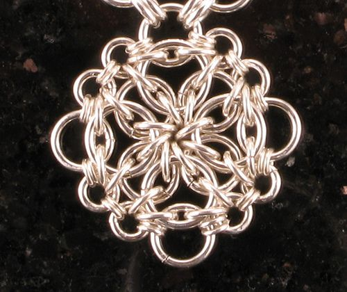 Detail of Ceres by Corvus - Corvus Chainmaille