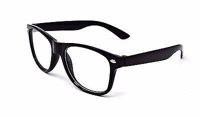 Black Clear Classic style kids Costume Perfect for Parties Hipsters Nerd glasses
