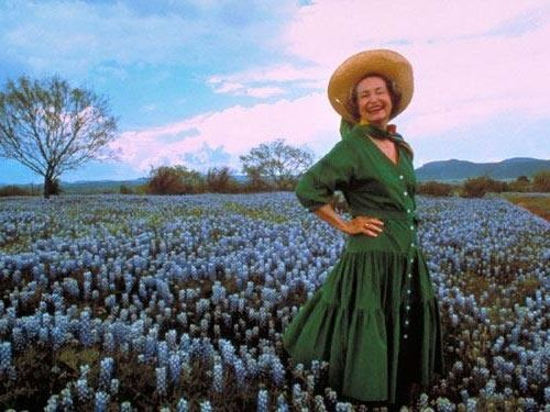 Lady Bird Johnson! 'Bout as Texas as you can get!