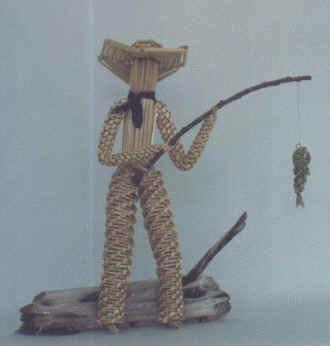 wheat weaving by Joy fisherman