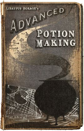 "A personally-annotated copy of Advanced Potion-Making belonged to Severus Snape while he attended Hogwarts School of Witchcraft and Wizardry. Snape's nickname for himself was the ""Half-Blood Prince"", and so he signed this nickname along the bottom of the back cover of the book. Advanced Potion-Making is a Potions textbook used by Hogwarts for N.E.W.T level Potions classes and authored by Libatius Borage. It contains a variety of recipes for various potions, many of which Snape improved by..."