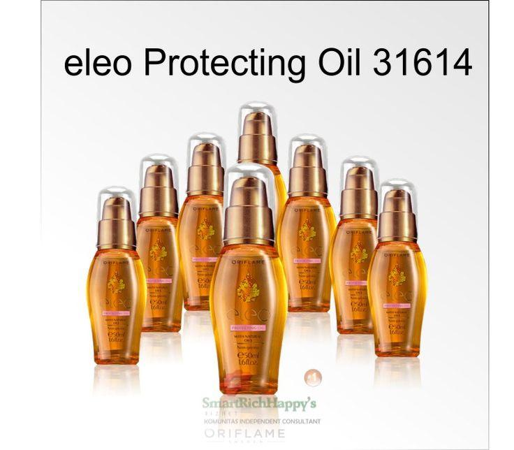 Eleo Protecting Oil 31614  Best Hair Oil dari Oriflame. Dapatkan tips cara merawat rambut rusak, kering, dan kusam serta manfaat dari eleo protecting oil. Selengkapnya bisa dilihat di http://idayunisthyaputri.com/eleo-protecting-oil-31614-manfaat-tips-dan-cara-menggunakan-untuk-rambut-indah-berkilau-bebas-kusut/ pemesanan hub Ida 0818520925/ pin 54690A5E