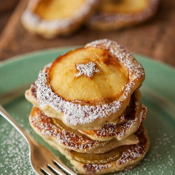 Simple Apple & Pear Pikelets recipe; belindajeffery.com.au.