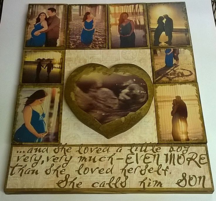 Custom made photo collage transfer to wood - pictures transferred on wood, photo transfer on wood, wood collage, wooden picture puzzle by HearttoCraft on Etsy