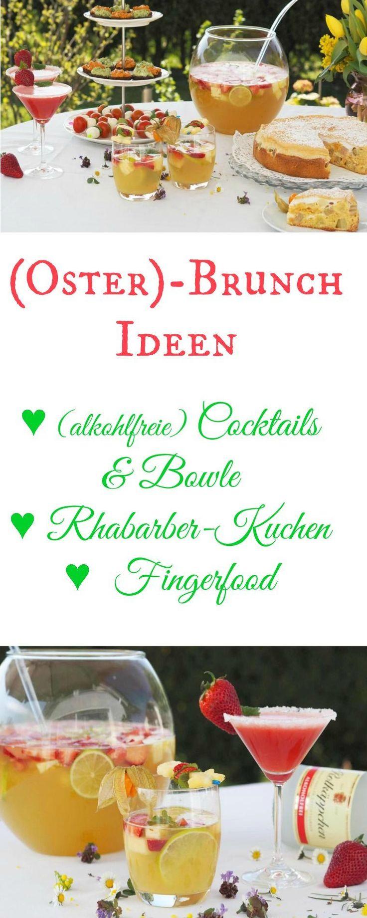 {Werbung} Leckere Ideen für einen (Oster-) Brunch. Toller (alkoholfreier) Cocktai …   – International Food Bloggers United