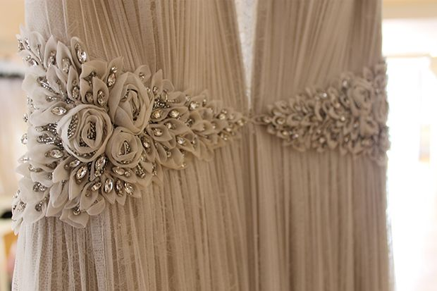New In: The Amelie gown by #CatherineDeane. #WeddingDress #Bridal #Embellishment