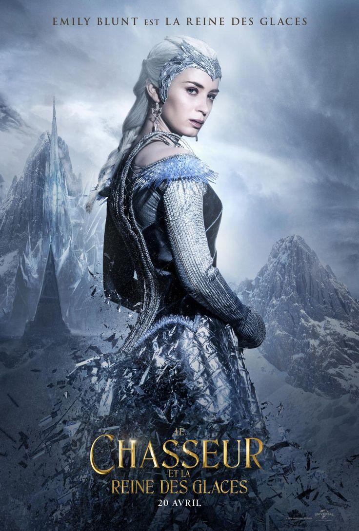Emily Blunt s'affiche pour Le Chasseur et La Reine des glaces