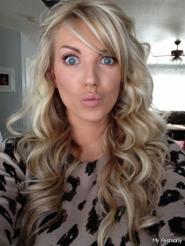 blonde with brown underneath wedding hair curled - Google ...