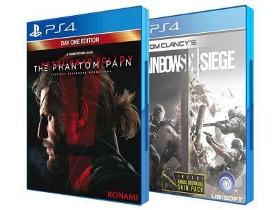 Tom Clancy´s Rainbow Six: Siege Signature Edition - Ubisoft + Metal Gear Solid V: The Phantom Pain PS4 com as melhores condições você encontra no Magazine Rgenestore. Confira!
