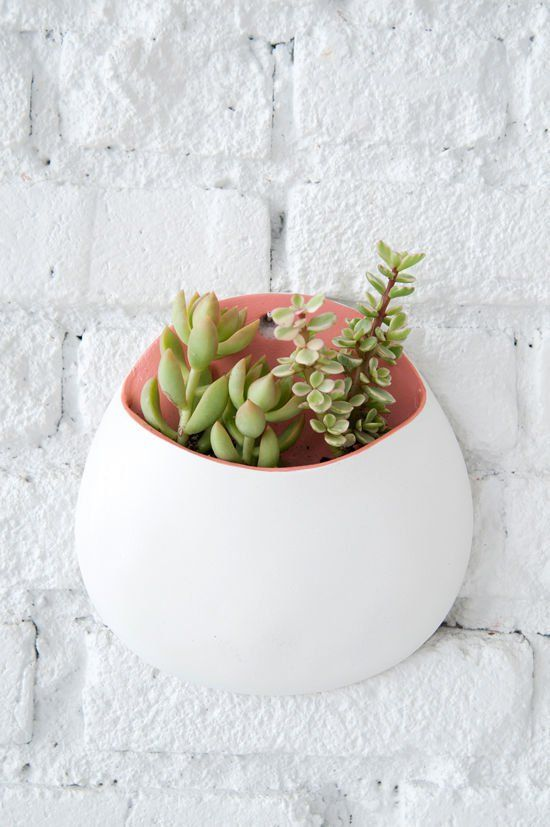 How To: Make a Minimal Wall Art Pocket Planter from Scratch