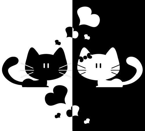 Siluetas De Gato, Moldes Siluetas, Dibujos De Gatos, Dibujos Animales, Gatos Blanco, Blanco Y Negro, Gatos Buscar, Todo Gato, Negro Buscar