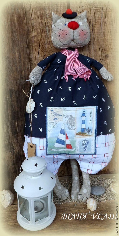 Купить РОБЕРТО ( пакетница) - пакетница, Пижамница, кот, котик, кухонный текстиль, текстиль для детской