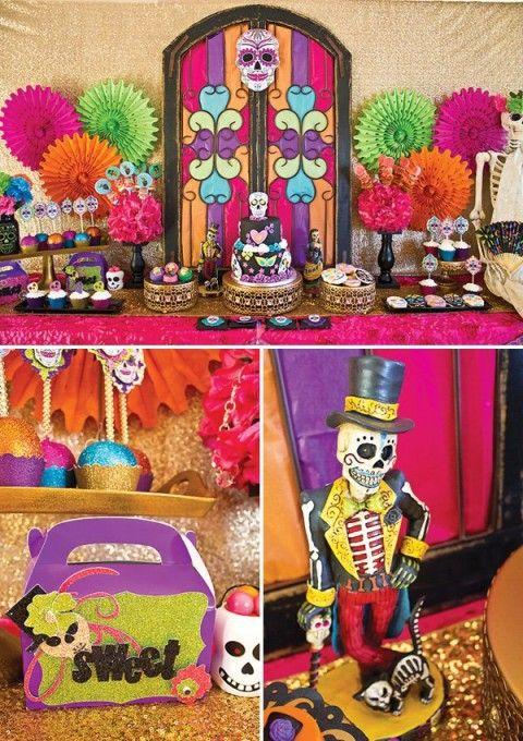 Festa de dia de los muertos