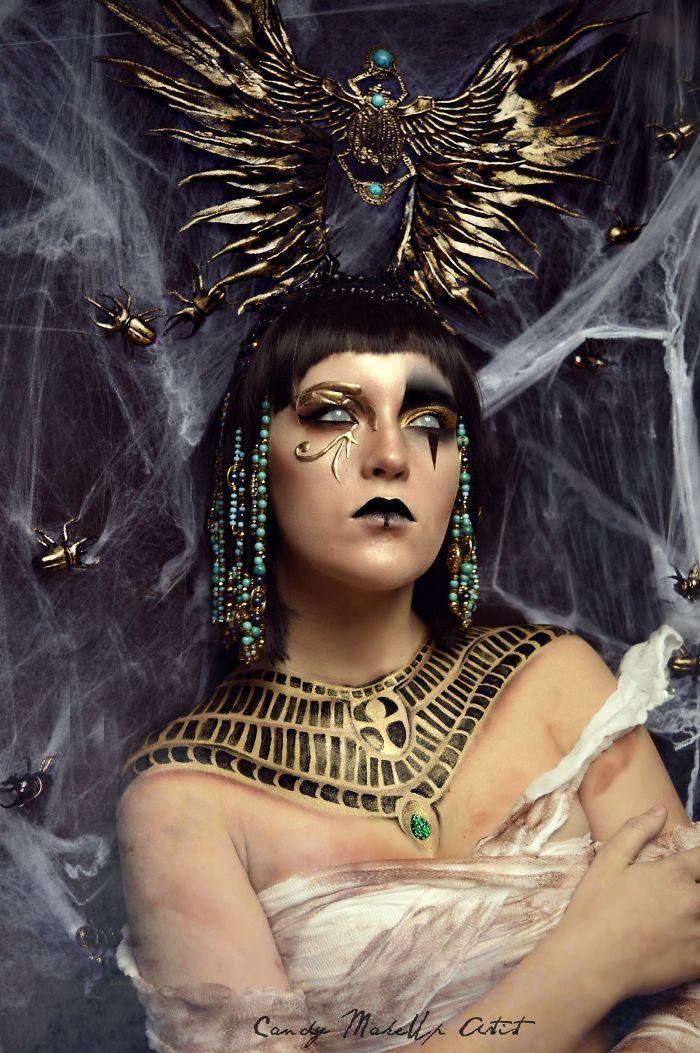 Joyce Spakman superbes et terrifiants maquillages 8