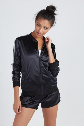 ACTIVE SPORTY BOMBER JACKET