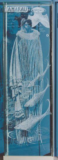 Tamarau by Darcy Nicholas - | Maori | Art | Painting | Kowhaiwhai |