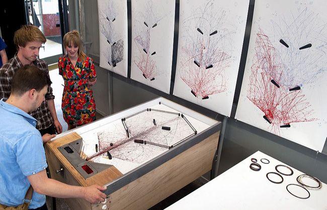STYN  Pinball machine created art
