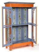 Hand Painted Furniture – Hand Painted Armoires, Cabinets, Cupboards China Cabinets and Bookcases