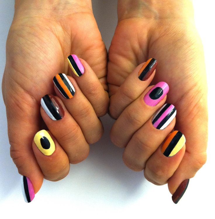 licorice allsorts nails.