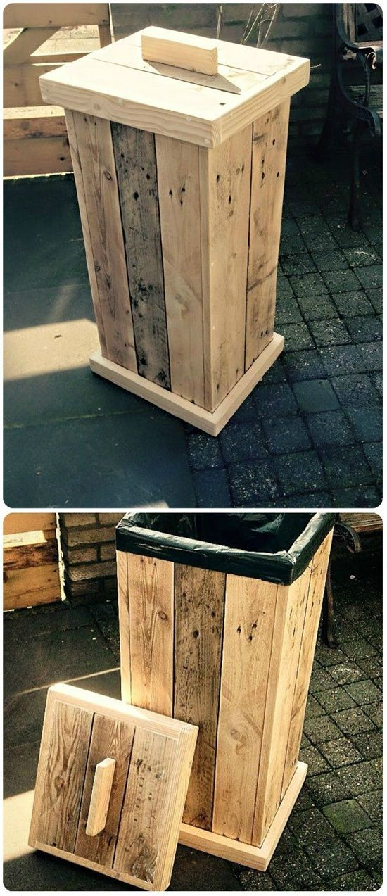 Build An Outdoor Trash Bin