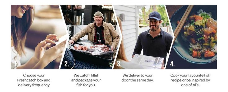Your fish is carefully packed by hand to ensure it is chilled and fresh for you to enjoy when you get home. We deliver in Auckland 6 days a week.