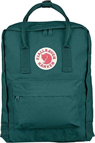 Fjallraven Kanken Backpack, Ocean Green