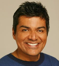 George Lopez- He needs to be there to make me laugh.  Plus he can be rico-suave or raunchy whatever the mood dictates.