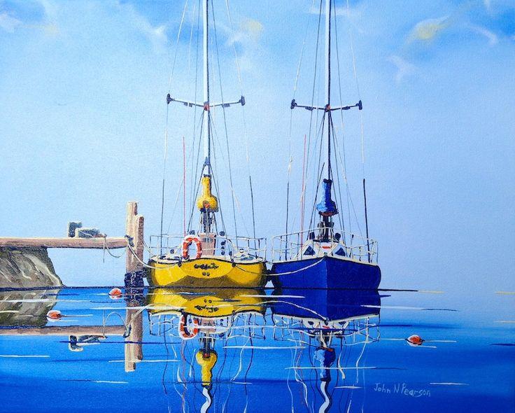 MAKING READY by John N Pearson Original Art for Sale - ART101 Art Gallery & Framing