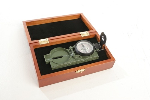Camenga Tritium lensatic compass - there is absolutely nothing better for finding your way.