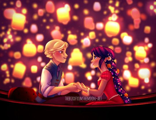 ... However we all know that Adrien is the REAL Rapunzel.