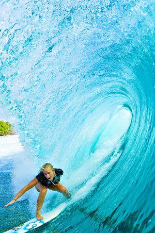 Pura inspiración, por que todos pueden surfear si es lo que aman hacer Bethany Hamilton