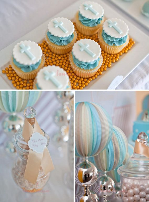 Image result for boys baptism party ideas