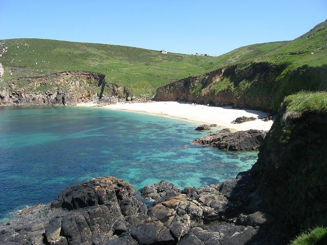 PORTHERAS COVE, Pendeen, Cornwall [ENGLAND] #wildbeach [© Chris Nelson]