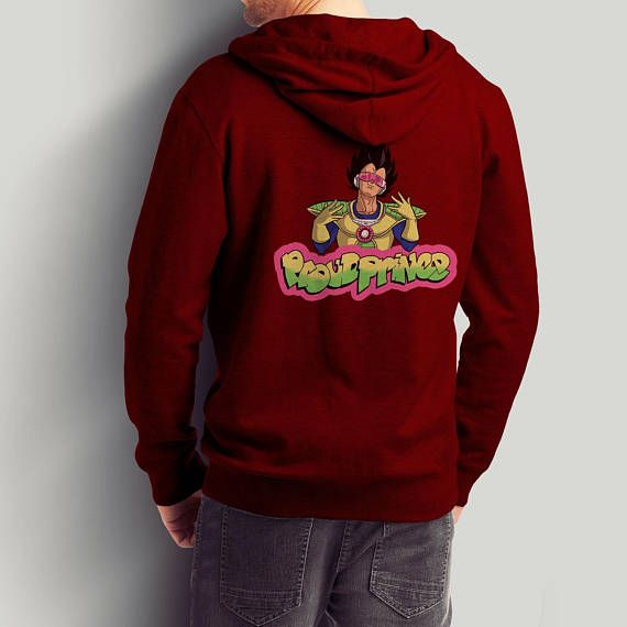 Proud Prince / Dragon Ball Vegeta / Fresh Prince Pullover and