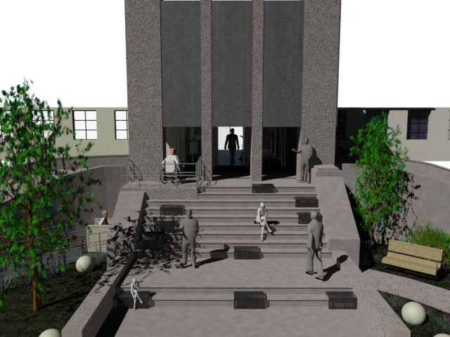 propuesta de remodelacion area de acceso exterior hospital san juan de Dios