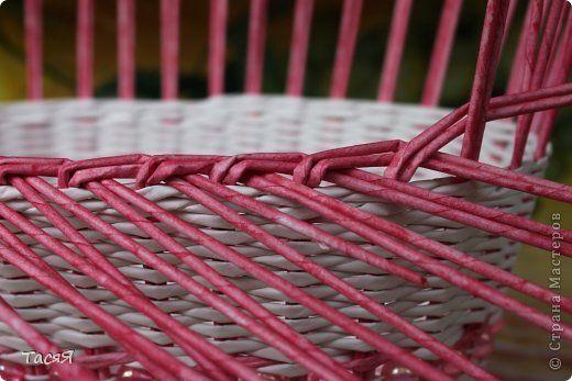 И всё-таки корзинки - это весч! :-)) И во все времена будут актуальны )) Думаю, плетение и возникло из потребности в корзинках :-))) Представляю вам сегодня вот такую: фото 13